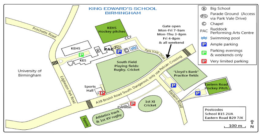 Map of Ruddock Centre